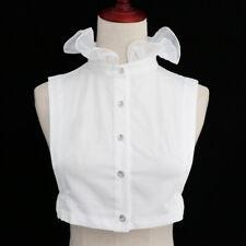 Women's Fake False Collar Detachable Stand Collar Bib Shirt Choker Necklace