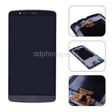 Gray LCD Screen + Touch Digitizer Bezel Frame Assembly For LG G3 D850 D855 VS985