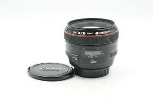 Canon EF 50mm f1.2 L USM Lens 50/1.2 #221
