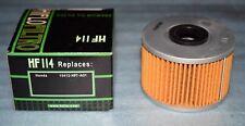 1 filtre à huile Hiflofiltro HF114 HONDA TRX 420 FOURTRAX RANCHER 500 FOREMAN