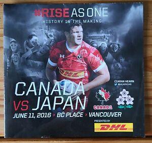 Canada Rugby v Japan Rugby Program 2016