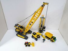 LEGO CITY CONSTRUCTION SITE JOB LOT CRAWLER CRANE ETC UNBOXED (WM411)