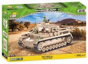 Cobi 2546 - Small Army - WWII Panzer IV Ausf. G - Neu