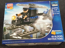 Block Tech Metro Squad Helecopter Building Kit