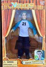NSYNC JUSTIN TIMBERLAKE DOLL Action Figure COLLECTIBLE MARIONETTE NIB