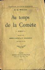 H.-G. Wells - Au temps de la comète - EO 1910