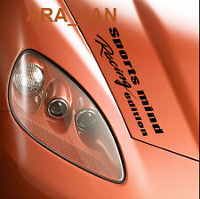 Sports mind Racing Edition Decal Sticker sport car hood logo auto motorsport