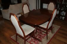 Furniture: dining table and chairs, bureau, corner TV unit, drawer units