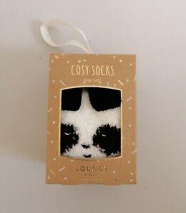 Debenhams - Cream Panda Boxed Socks One Size (H10)