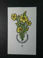 ex77 Exlibris Friedrich Leinfeller Blumen Flowers 11,5x6,5 cm