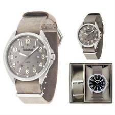 Timberland Mens Quartz Fabric Strap Watch 14829js/13