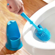 1 Toilet Brush Set Creative Double-sided Decontamination Cleaner for Bathroom