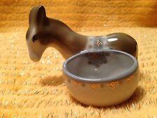 Vintage Porcelaine Donkey sauce bateaux Sel Poivre Shaker URSS Russie Ukraine