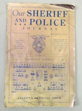 Our Sheriff and Police Journal Arizona Monthly Law Enforcement Magazine - 1936
