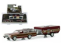 GREENLIGHT 32160C 1981 FORD LTD COUNTRY SQUIRE AND POP UP CAMPER TRAILER