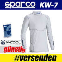 SPARCO Pullover Pro Tech KW-7, weiß X-Cool unterwäsche Kartsport Kragenpullover
