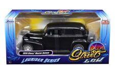 "1939 CHEVROLET MASTER DELUXE BLACK ""LOWRIDER SERIES"" STREET LOW 1/24 JADA 98913"