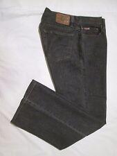 ~>  EDDIE BAUER  ~ Mens Black  BOOTCUT  Black Jeans ~ Sz 34 x 32/33 ~ EXCELLENT