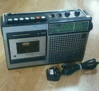 National Panasonic RQ-542S FM/AM Radio Cassette Recorder Tape Player Vintage