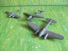 3 vieja Wiking aviones he111, r8 y me110, bastelkonvolut