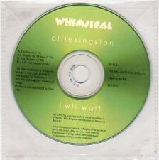 (FE698) Alfie Kingston, I Will Wait - 2006 DJ CD