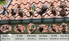 Dachrinnenfiguren 6er-Set Toit Figurine de Clôture Figure Zaunschmuck Jardin