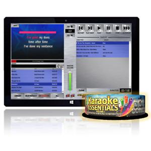 Selectatrack Touchscreen Karaoke Tablet. Includes 500 Songs