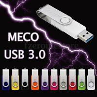 MECO Chiavetta USB 3.0 4/8/16/32/64GB Penna Swivel Flash Memory Stick Pen Drive