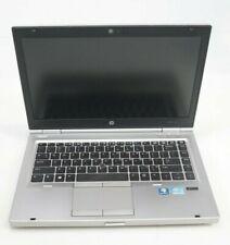 "HP EliteBook 8470p 14"" Intel i7-3520M 2.9GHz 8GB DDR3 WIN7COA Fair No HDD"