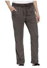 Calvin Klein Jeans Women's Soft Pull On Pant Drawstring Waist Phantom Grey S
