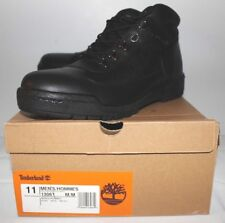 Timberland Leather Field Boot Black Men's Size 11 13061 Brand New