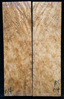 """Asian Satinwood Burl #04 Knife Scales 5""""x1.5""""x 5/16"""""""