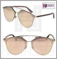 CHRISTIAN DIOR REFLECTED PRISM Palladium Rose Mirrored Sunglasses ReflectedP