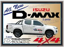 Adesivi D-MAX per fuoristrada Pick-up ISUZU 2012