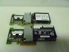 LOT OF 2 IBM ServerRAID SAS/SATA RAID Controller Card  46M0851