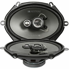 Soundstream AF.573 5x7 Inch Arachnid Series 3-Way Coaxial Car Speakers