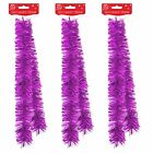 Christmas Tree/Room Decoration 2 Metre Tinsel - Purple