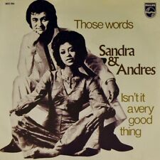 "7"" SANDRA REEMER & ANDRES DRIES HOLTEN Those Words PHILIPS Dutch-Press orig.1971"