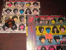 ROLLING STONES SOME GIRLS 1999 DIE CUT JACKET 180 Gram LP + JAPAN CD DIE CUT SET