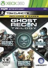 Tom Clancy's Ghost Recon Trilogy (Microsoft Xbox 360, 2013)