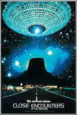 CLOSE ENCOUNTERS OF THE THIRD KIND Movie POSTER 27x40 H Richard Dreyfuss Teri
