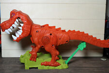 Hot Wheels City Track T-Rex Takedown Replacement Playset Dinosaur WORKS!