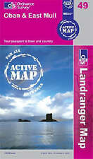 Oban and East Mull - OS Landranger ACTIVE Map 49 (New folded Sheet map, 2007)