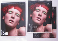 Schwarzkopf Essential Looks Colour Collection 1/2011 Hair Salon Book & CD