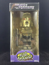 NECA TRANSFORMERS MEGATRON HEAD KNOCKER BOBBLE HEAD NEW SLIGHT BOX WEAR RARE