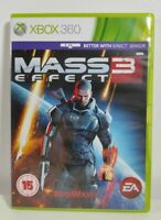 Mass Effect 3 Xbox 360 Game Mint Condition Complete PAL UK Fast Free Postage
