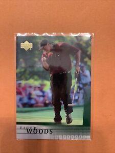 2001 Upper Deck Golf Tiger Woods Rookie