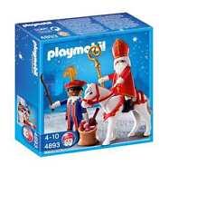 Playmobil 4893 - Nikolaus und Gehilfe Sint en Piet NEU OVP