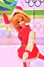 Vintage Blond Stacey Barbie in Skate Mate Set #1793 (1970-71) Complete Extras