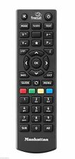 New Manhattan Plaza Freesat Remote Control For HD-S2 & Bush Freesat FSATHD HDS2